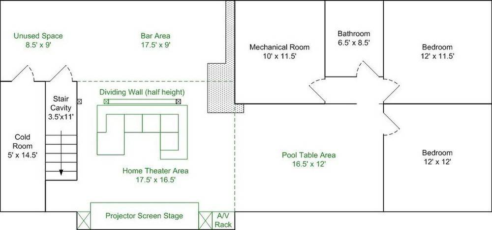 Screen Stage Sub Enclosure Design Home Theater Forum