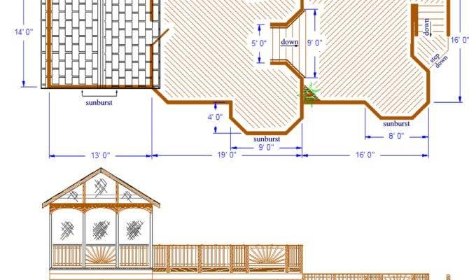 Screened Porch Deck Plans Design Ideas
