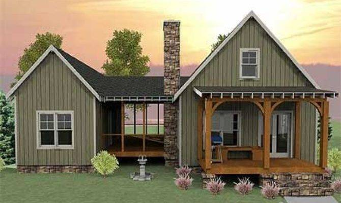 Screened Porch Home Plans