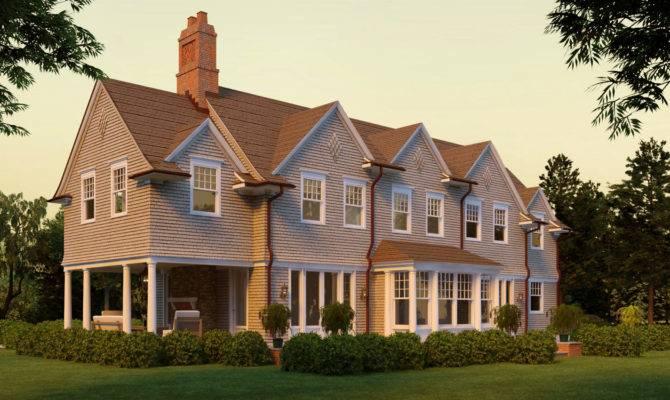Seal Harbor Shingle Style Home Plans David Neff