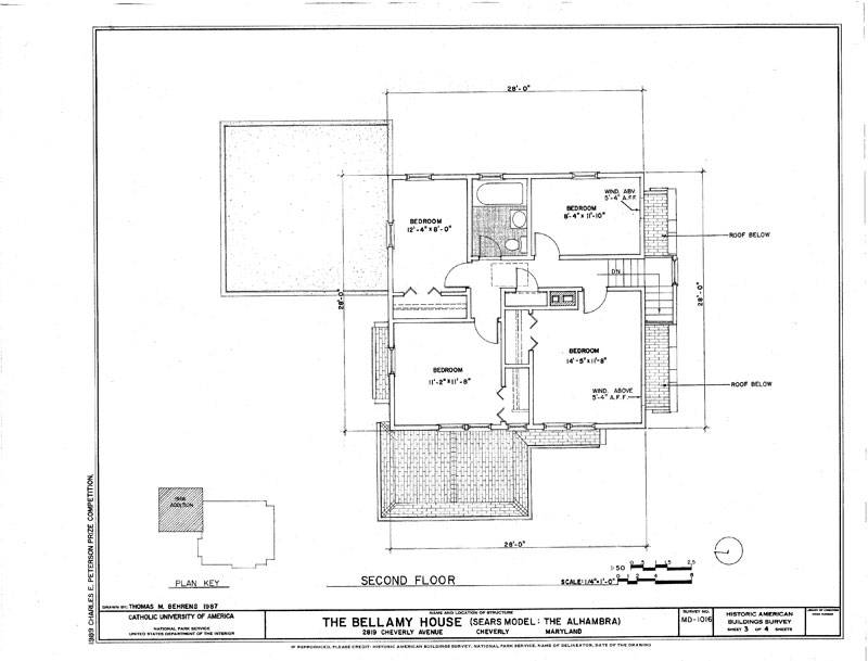 Sears House Mission Style Home Plans Ebay