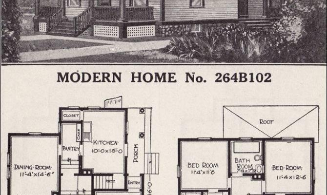 Sears House Plans Modern Home Prairie Box