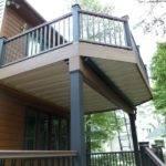 Second Floor Deck Designs Homes Plans