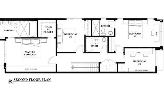 Second Floor Plan Interior Design Perspective