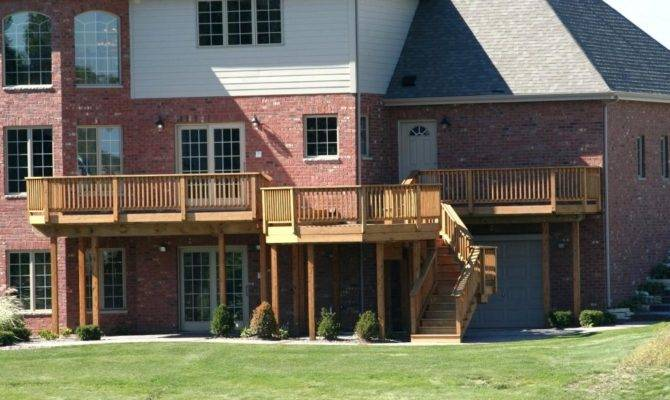 Second Story Deck House Plans