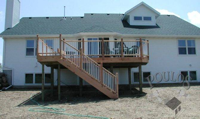 Second Story Deck Ideas Pinterest