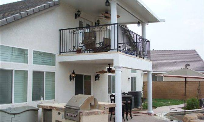 Second Story Deck Roof Chino Hills
