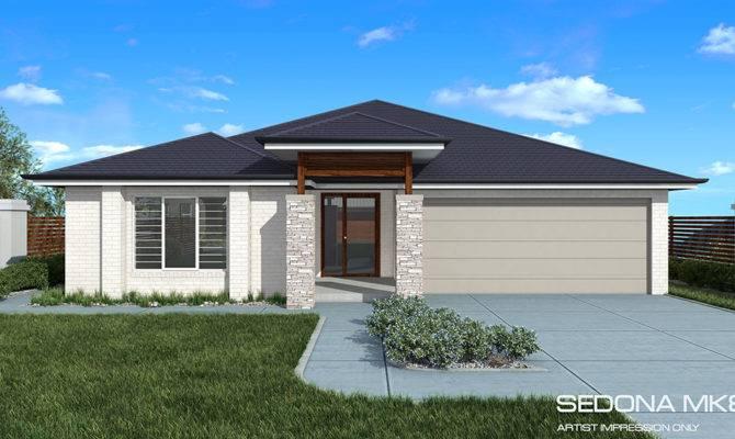 Sedona Downslope Home Design Tullipan Homes