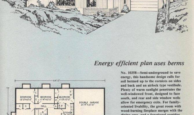 Semi Underground House Plans Home