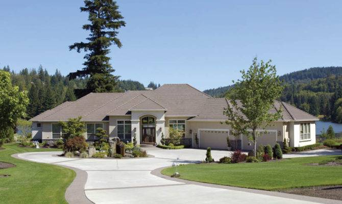 Serena Luxury Ranch Home Plan House Plans
