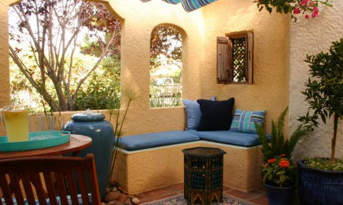 Serenity Design Colorful Patios