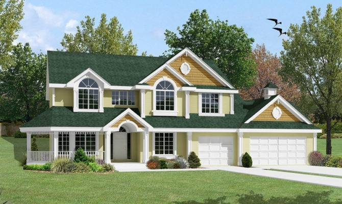 Shadypeak Country Home Plan House Plans More