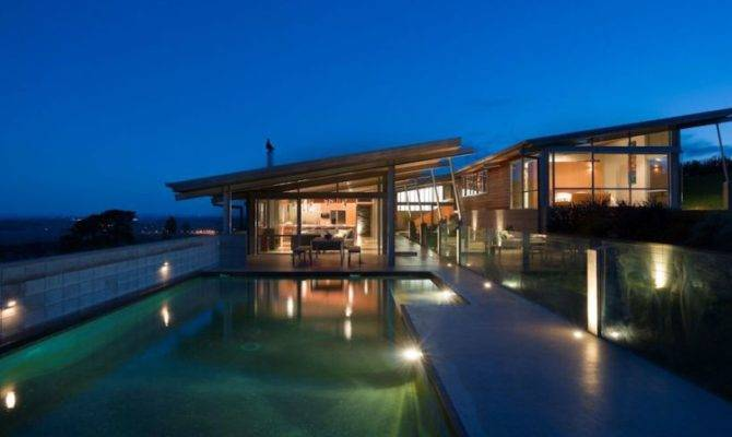 Shaped House Plans Courtyard Modern Design
