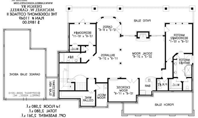 Shaped House Plans Courtyard Pool Home