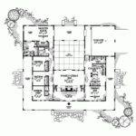 Shaped House Plans Courtyard Proiecte Casa Forma