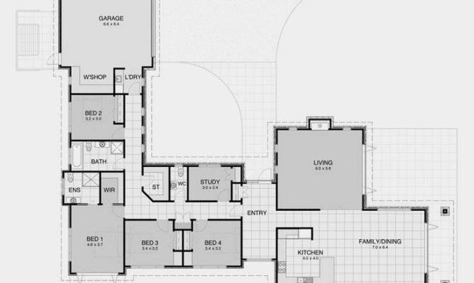 Shaped House Plans Home Deco