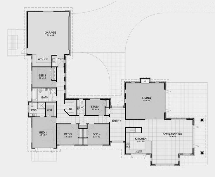 Shaped House Plans Home Deco