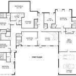 Shaped House Plans Single Level Home Design