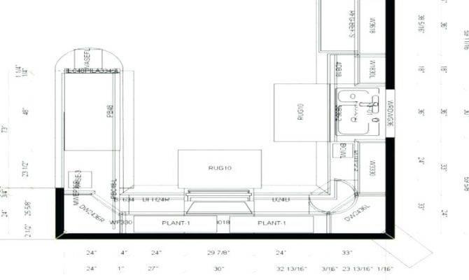 Shaped Kitchen Floor Plan Interior