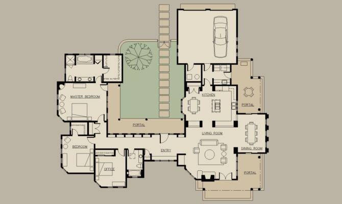 Shaped Ranch Floor Plans House Home Design Ideas