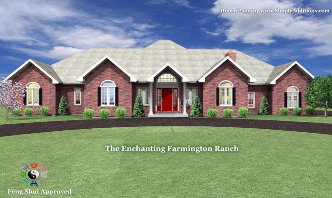 Shaped Ranch House Floor Plans Second Sun