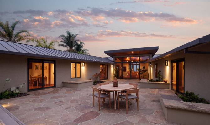 Shaped Ranch Style Homes Ideal Floor Plan