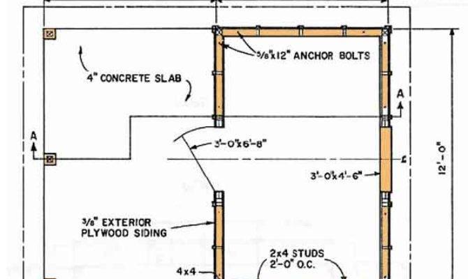 Shed Blueprints Build