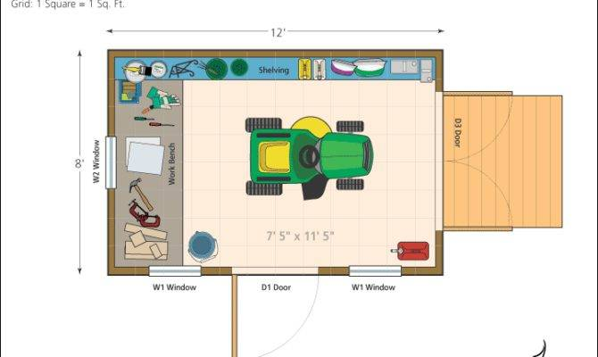 Shed Floor Plans
