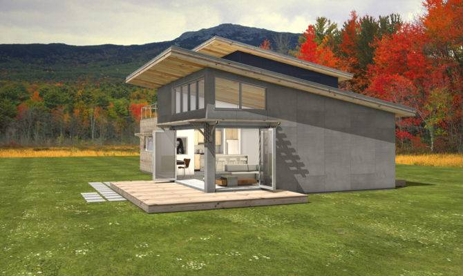 Shed Roof House Level
