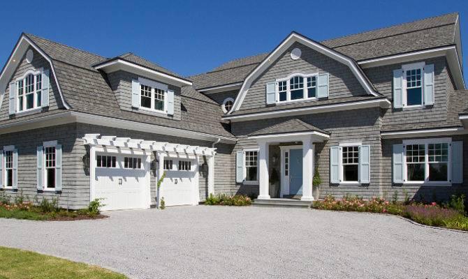 Shingle Style Gambrel Beach House Home Bunch Interior