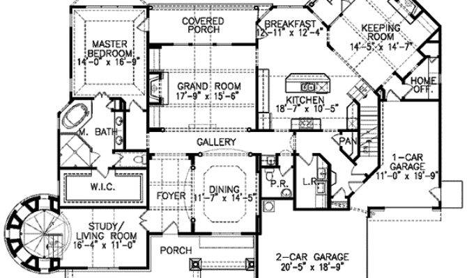 Shingle Style Home Plan Lighthouse