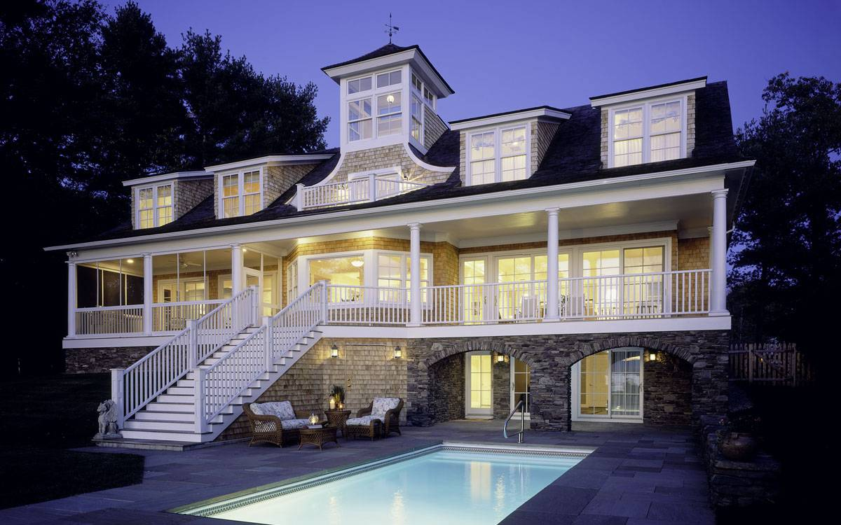 Shingle Style House Burlington Quintessential