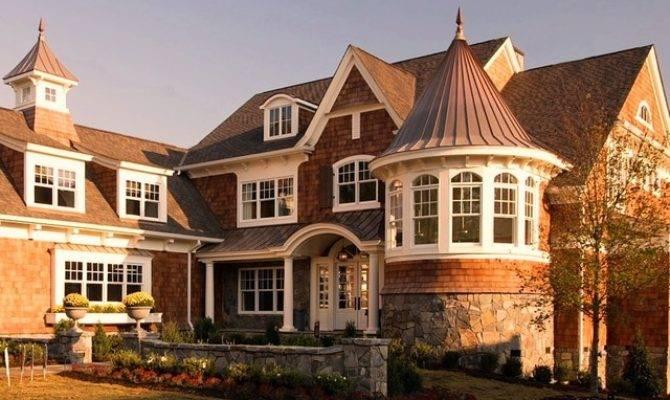 Shingle Style House Victorian Exterior Detroit