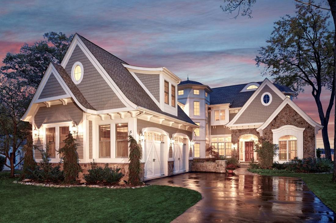 Shingle Style Lake House Vanbrouck Associates