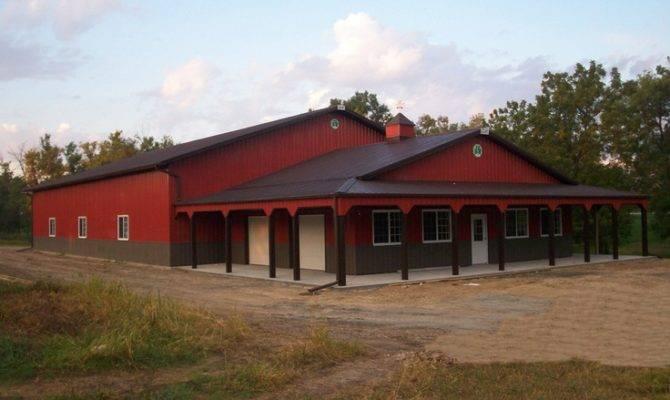 Shop House Combo Barn Pinterest