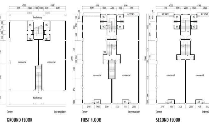 Shop House Floor Plans Chong Kia Hoi Realty Sdn Bhd