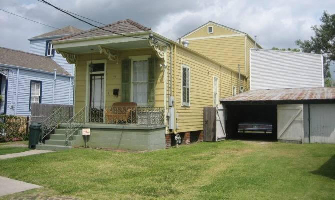 Shotgun House History