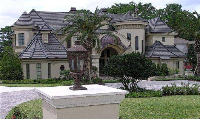 Showcase Beautiful French Country Chateau Luxury House Plans