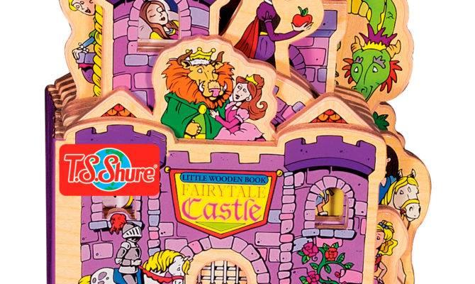 Shure Fairytale Castle Wooden Story Book
