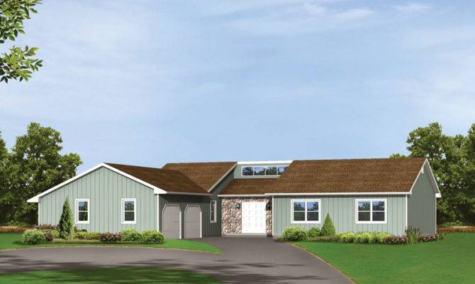 Sienna Contemporary Ranch Home Plan House