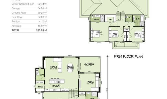Sienna Mkii Tri Level Upslope Squares Home Design