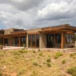Significant Contemporary Adobe House Santa County