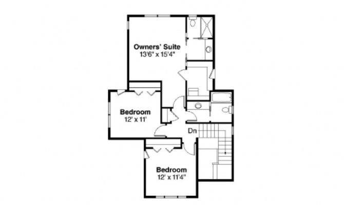 Simple Bedroom Bungalow House Floor Plans