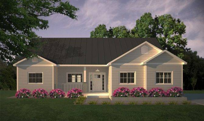 Simple Country Home Elevation Floor Plan Ideas Pinterest