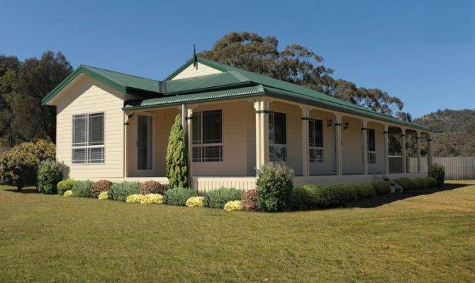 Simple Country Homes Manor Provides