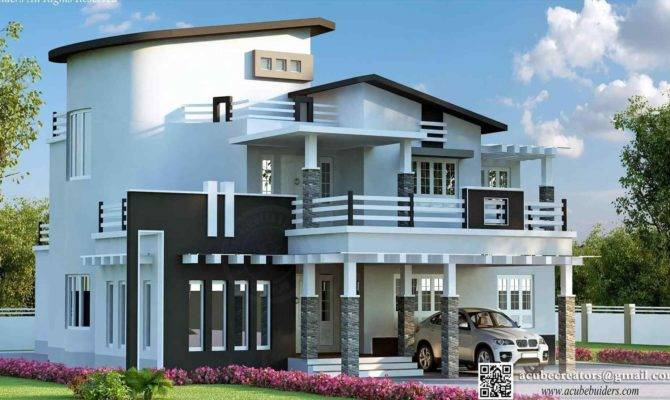 Simple Exterior House Designs Kerala Datenlabor Info