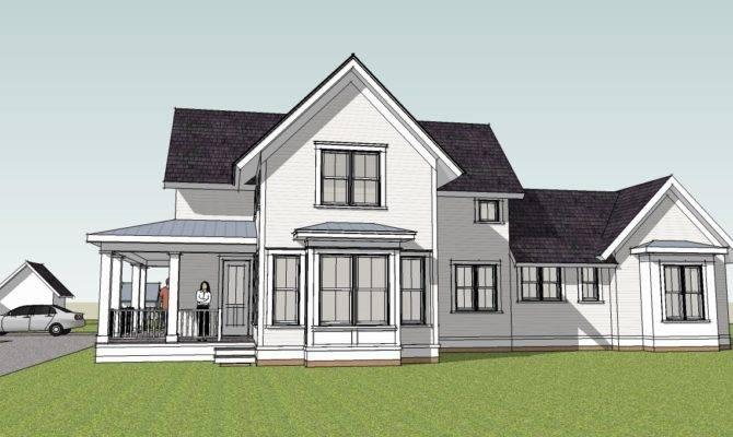 Simple Farmhouse Plans Unique House