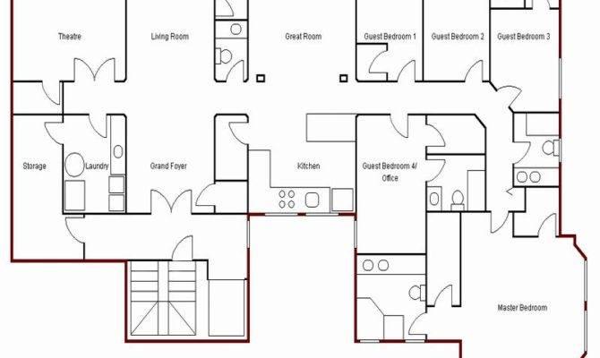 Simple Floor Plans Home Design Ideas Interior