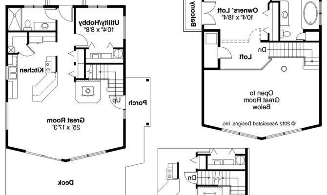 Simple Frame Cabin Floor Plans