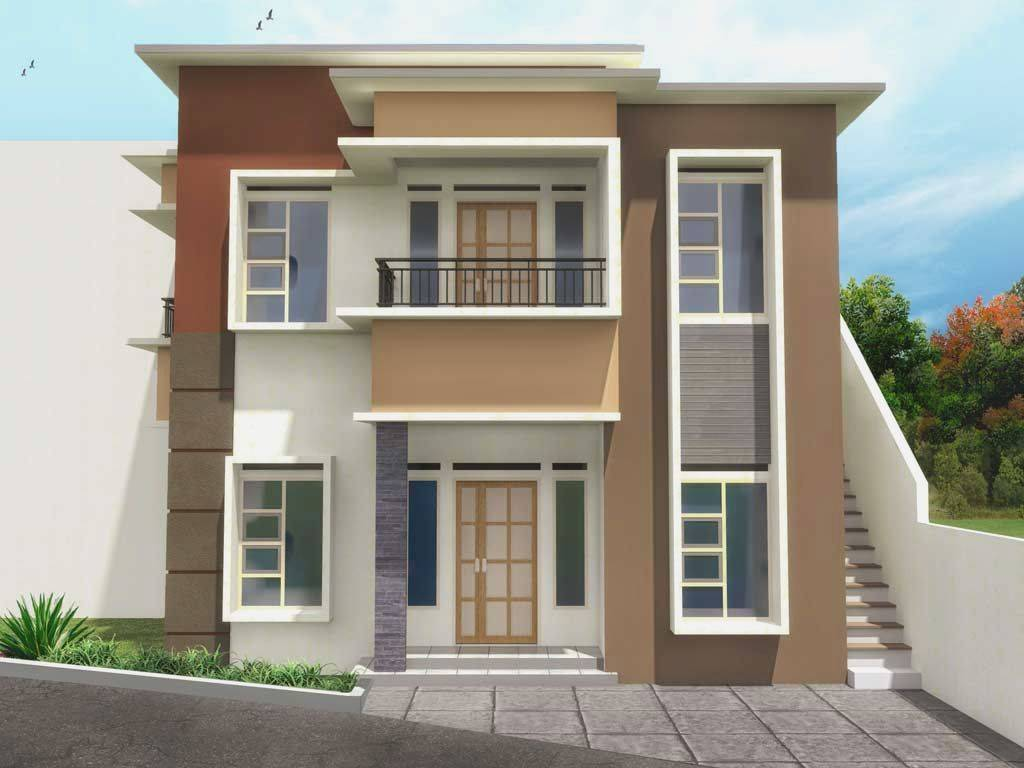 Simple House Design Second Floor More